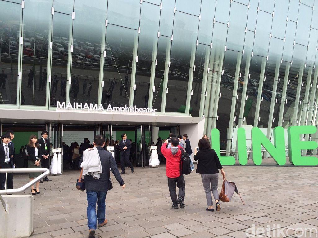 Mengintip Persiapan Konferensi Line 2016 di Jepang