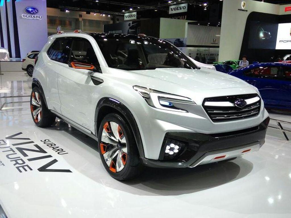 Subaru Pamer Konsep VIZIV Future di Bangkok