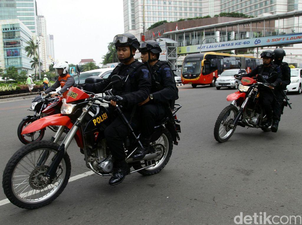 Libur Nasional, Pengamanan Jakarta Diperketat