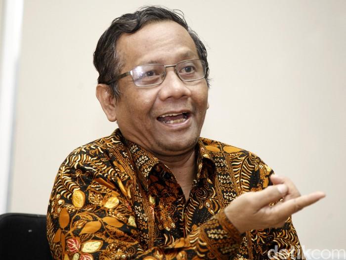 Giliran Mahfud Md Tolak Jokowi
