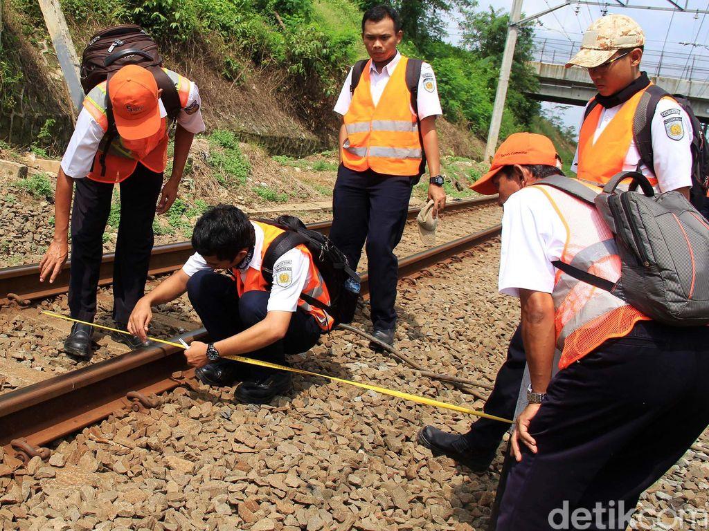 Pemeriksaan Jalur KA Tigaraksa-Maja