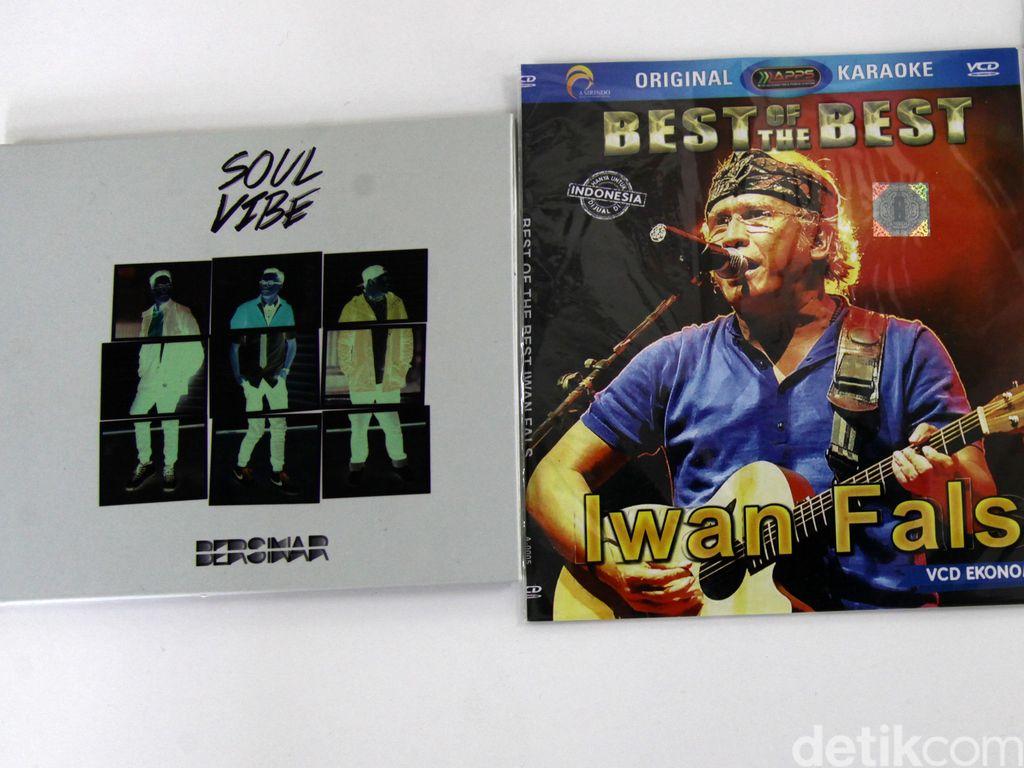 Perbandingan CD Asli, Bajakan dan VCD Superekonomis