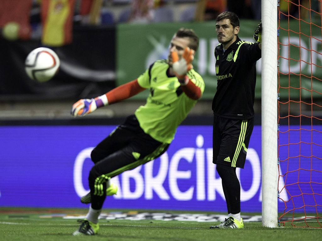 De Gea Mestinya Jadi Kiper Nomor Satu Spanyol