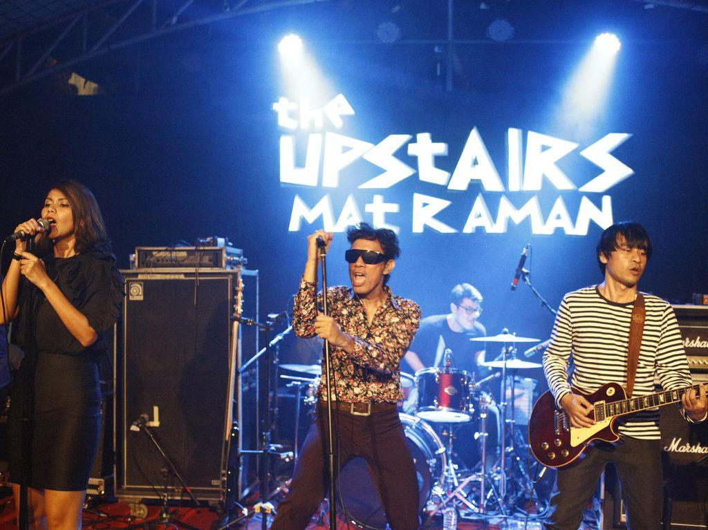 The Upstairs Rilis Ulang Album Matraman