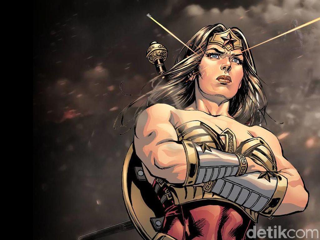Ternyata Wonder Woman Punya Jet Transparan