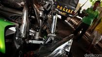 Dini Hari, Mobil dan 2 Motor Kecelakaan di Kasablanka Jaksel
