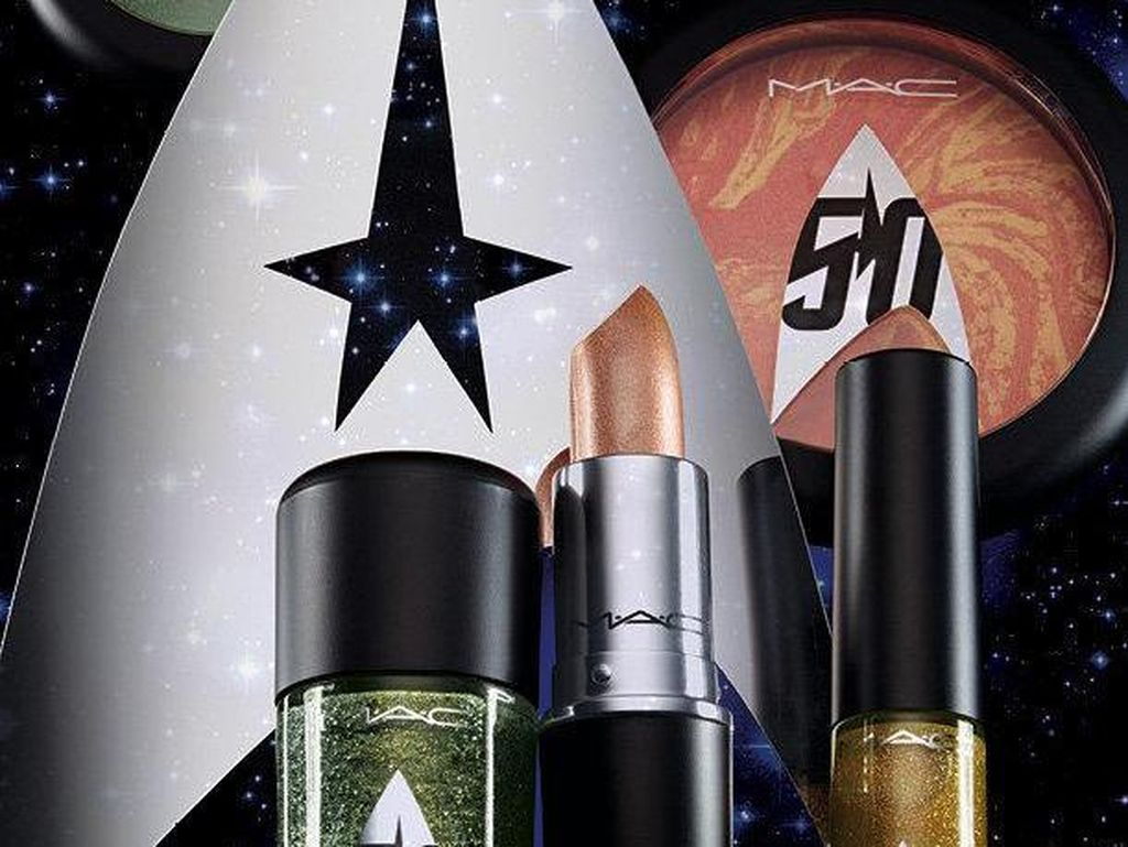 MAC Rilis Makeup Bertema Film Star Trek