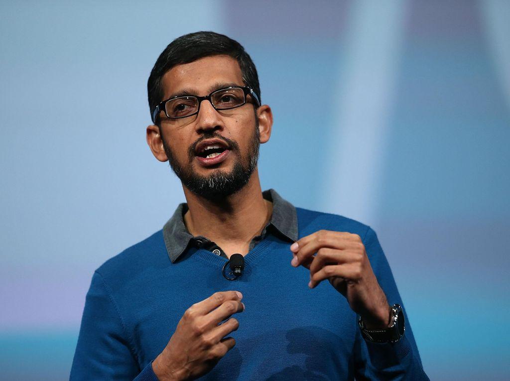 Sundar Pichai Kini CEO Google, Dulu Komputer pun Tak Punya