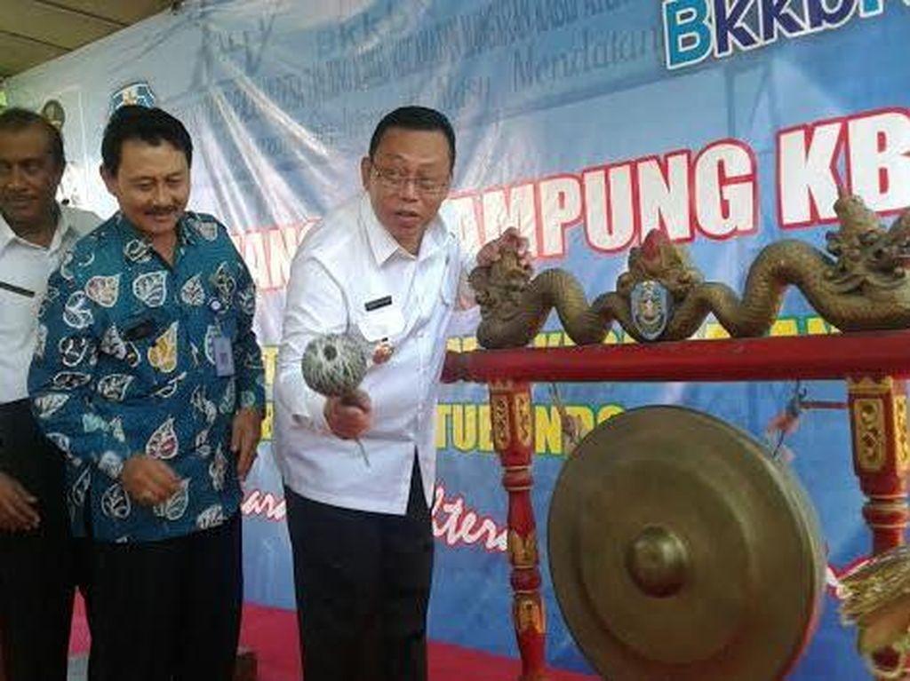 Bupati Situbondo Launching Kampung KB