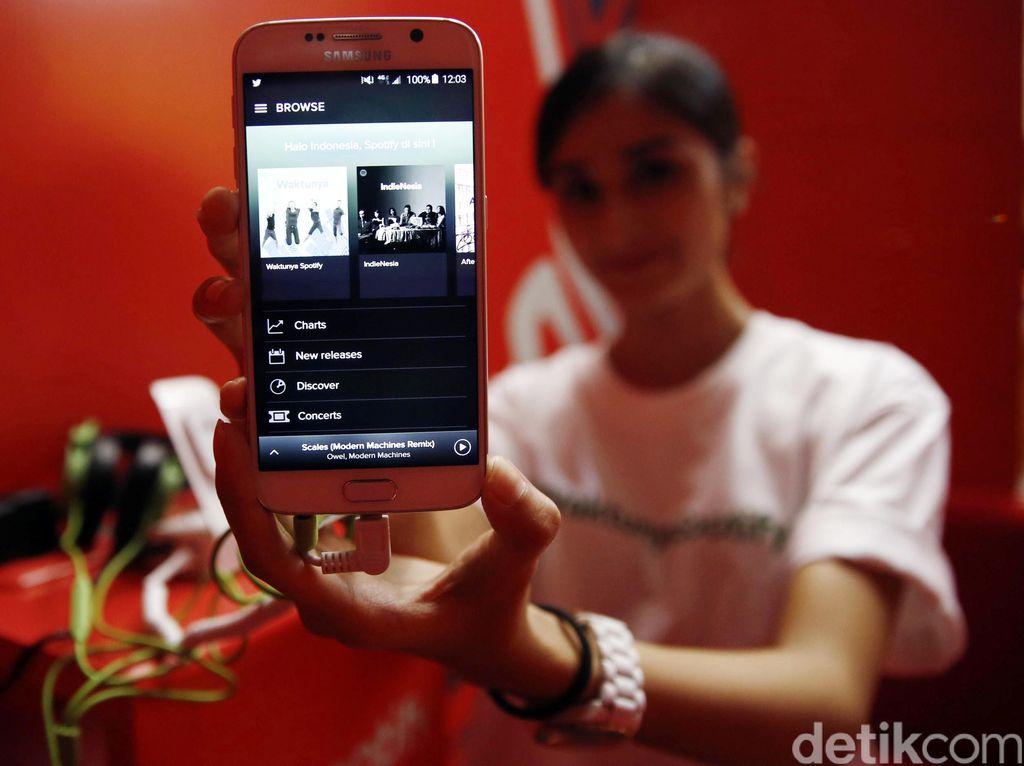 Resmi Masuk Indonesia, Spotify Gandeng Indosat