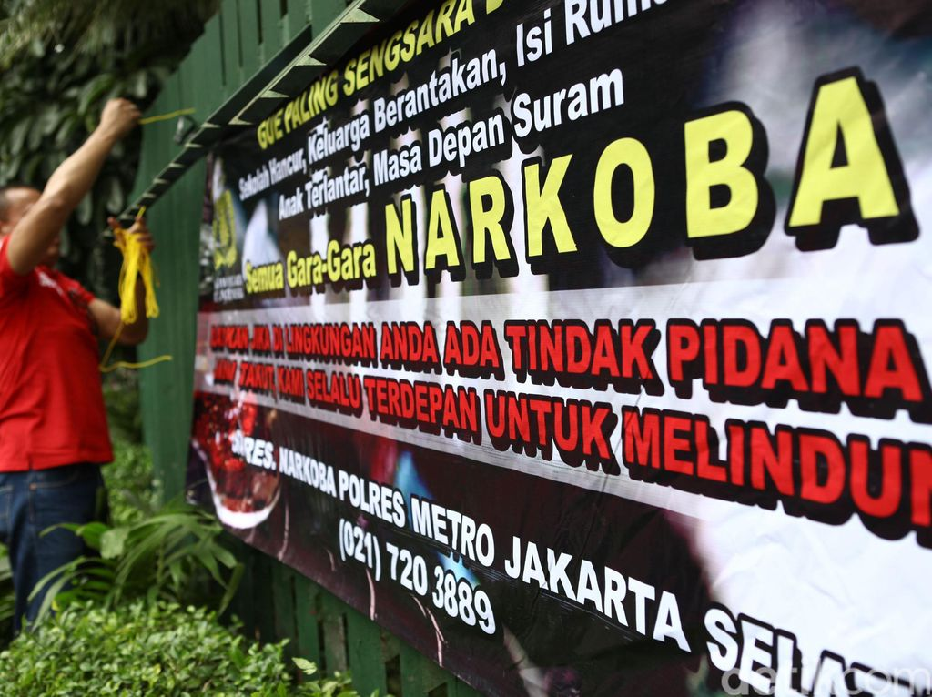 Awas! Yogyakarta Urutan Pertama Pengguna Narkoba Terbanyak