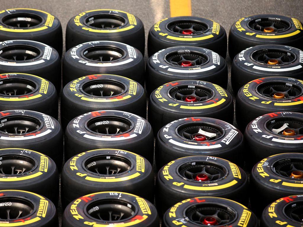 Mengenal Warna-Warni Ban Mobil F1 2016