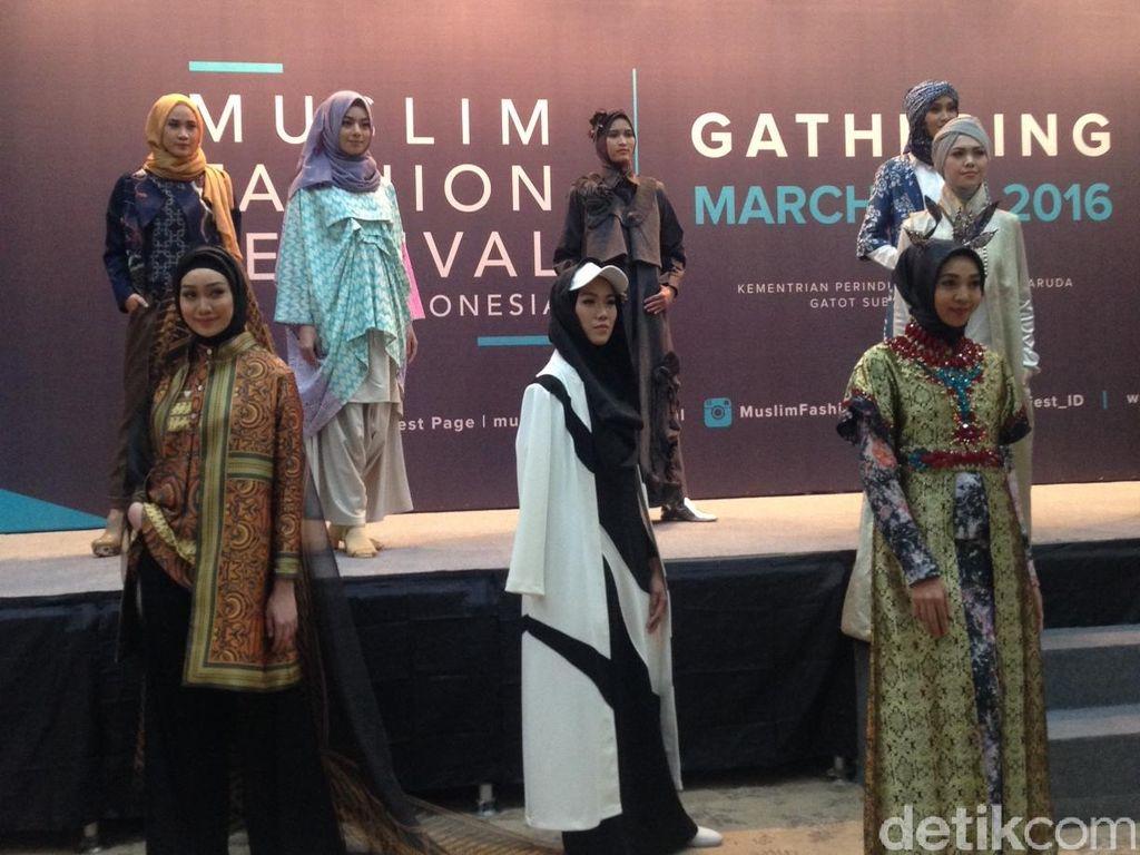 Jelang Puasa, 200 Desainer Siap Pamer Karya di Muslim Fashion Festival