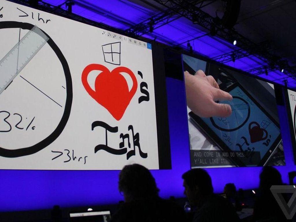 Windows Ink Bikin Mudah Corat-coret di Gadget