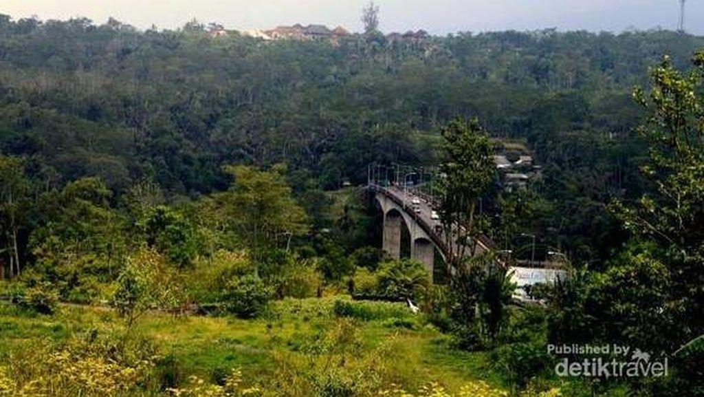 Jembatan Tukad Bangkung di Bali, Diklaim Tertinggi di Asia Tenggara