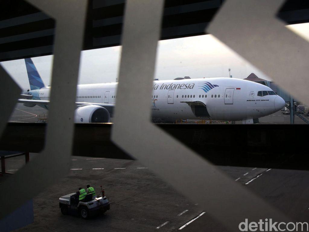 Penerbangan Perdana Garuda Indonesia Ke Heathrow London