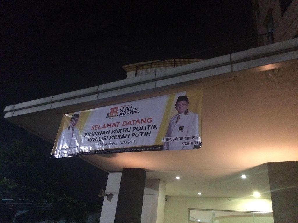 Isu Reshuffle Menguat, Ketum Parpol KMP Kumpul di Kantor PKS