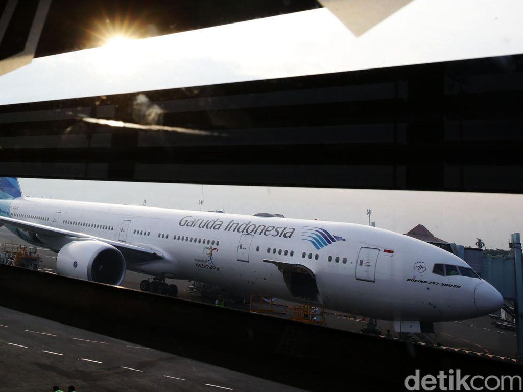Peringkat FAA Naik, Garuda Minati Penerbangan ke AS