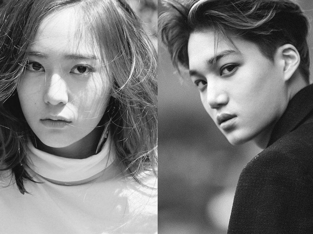 Kai EXO dan Krystal f(x) Pacaran, Khayalan Fans yang Jadi Nyata