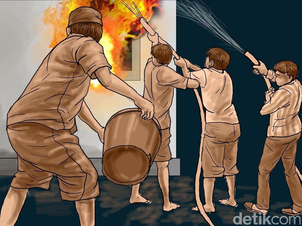Kebakaran Rumah di Cipayung, 8 Unit Damkar Dikerahkan