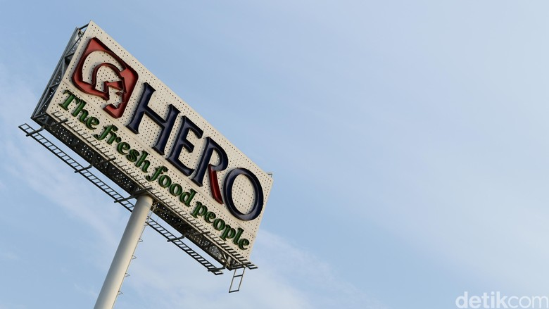 Penjualan Produk Makanan Lesu, Hero Rugi Rp 191 Miliar