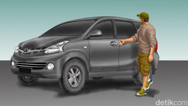Pencuri Mobil di Bekasi Ini Tercebur ke Rawa