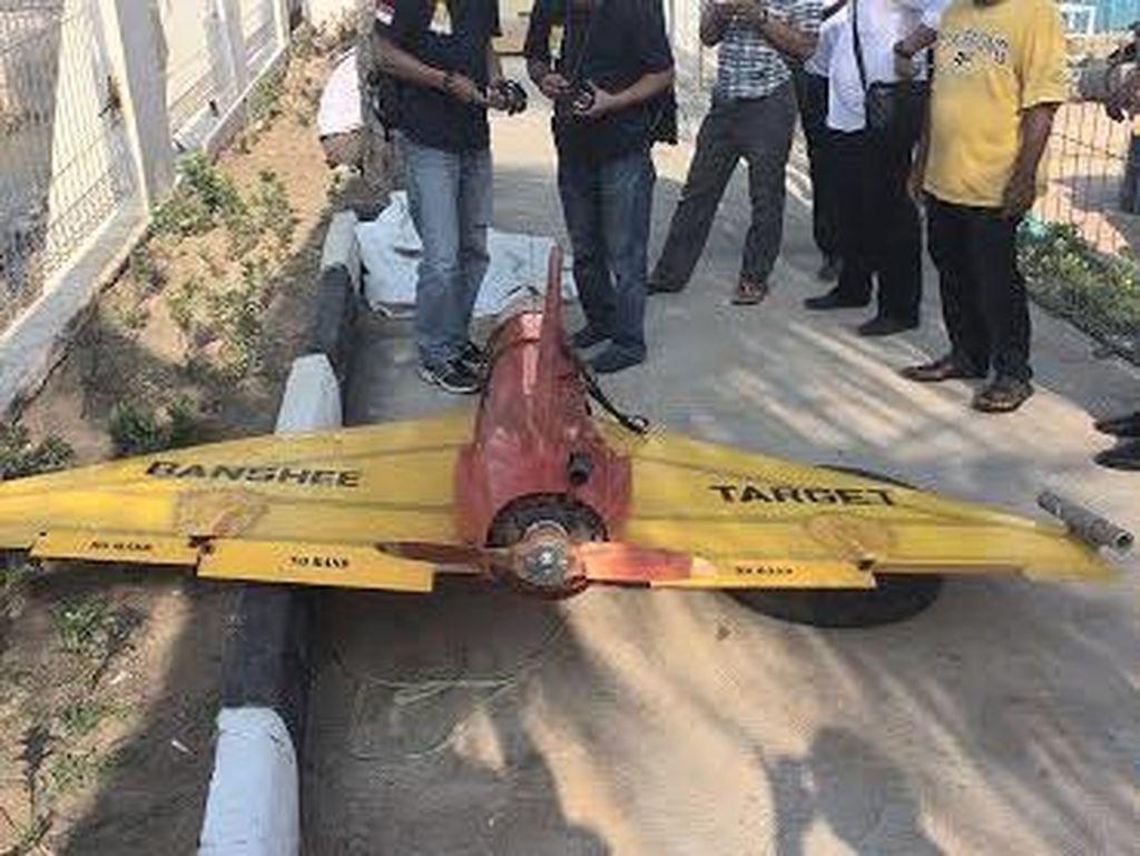 Drone Mata-mata yang Jatuh di Perairan Kepri Dibawa ke Jakarta