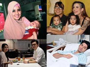 Reza Rahadian Sakit Tifus, Risty Tagor Tampak <i>Happy</i> Usai Cerai
