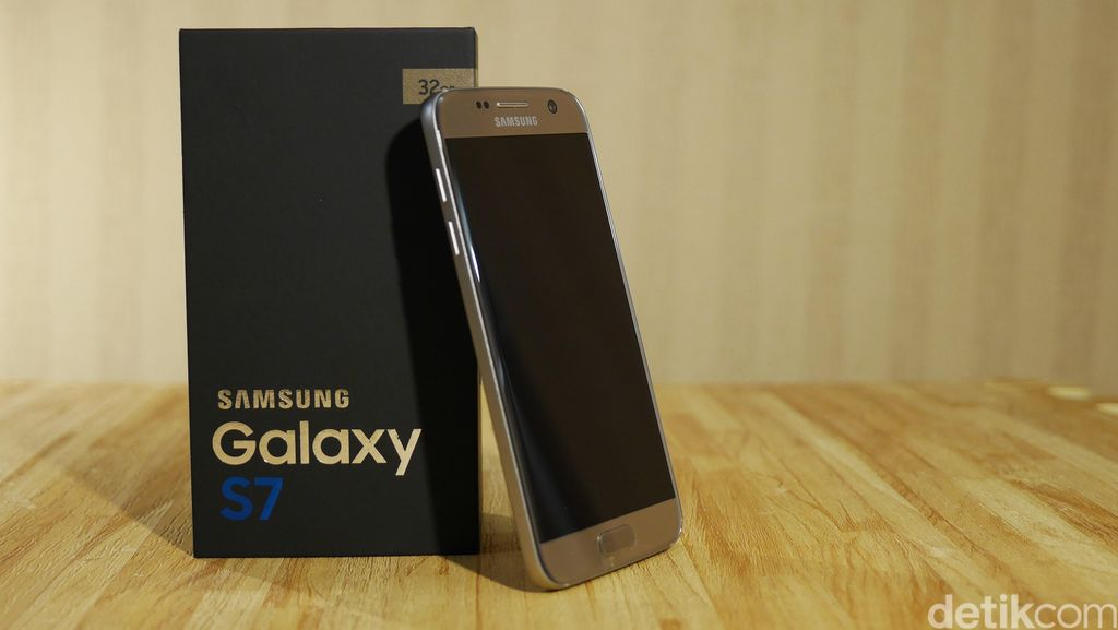 Unboxing Samsung Galaxy S7
