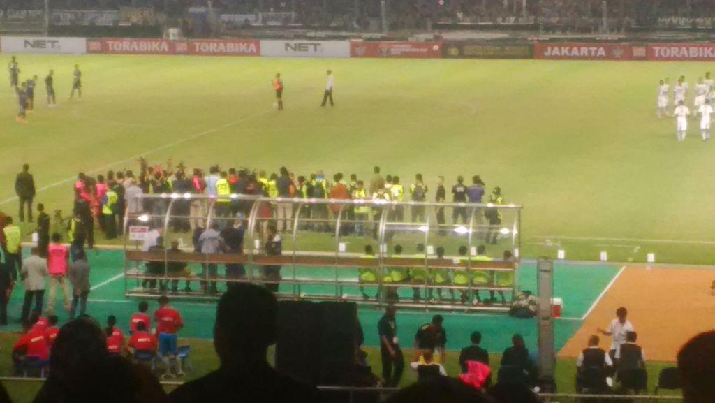 Presiden Jokowi Saksikan Laga Final Piala Bhayangkara di GBK