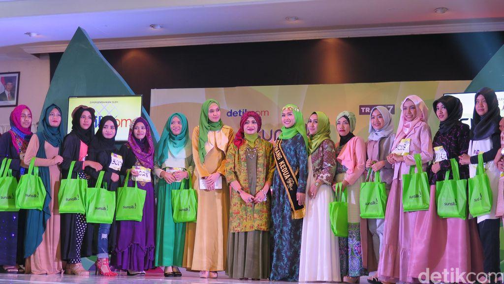 20 Hijabers yang Lolos Audisi Sunsilk Hijab 2016 Hari Pertama di Lombok