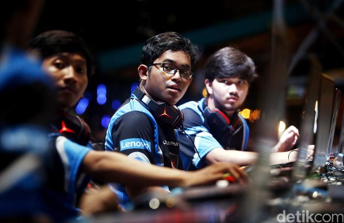 Gamer e-sports. Foto: Rengga Sancaya/detikcom