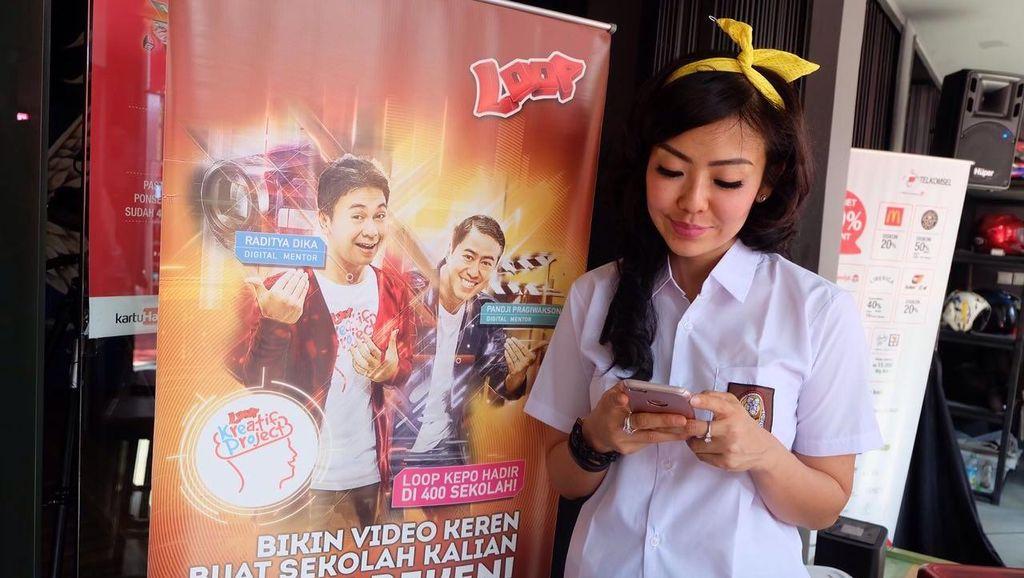 Loop Kepo Diserbu 145 Ribu Video Kreatif