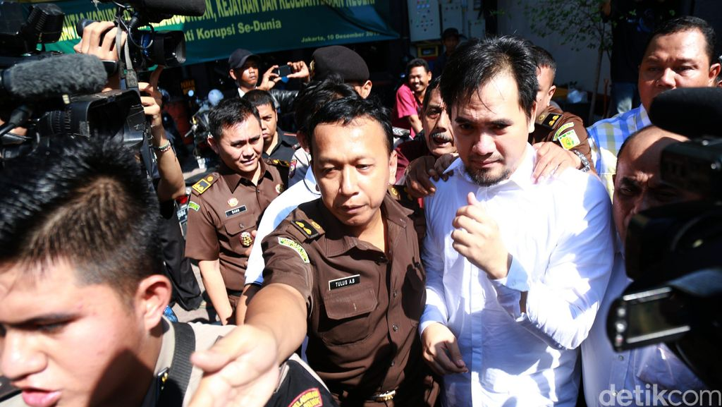 Cerita Saipul Jamil Bertemu Jero Wacik di Cipinang