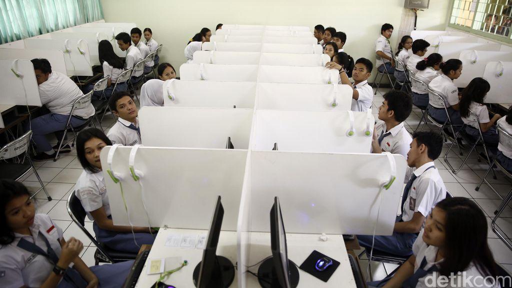 SMA 70 Jakarta Lebih Suka Mapel UN Tak Bisa Dipilih
