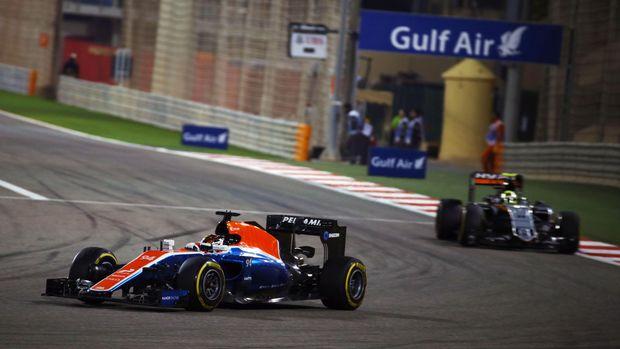 Ilustrasi balapan F1 Bahrain. (
