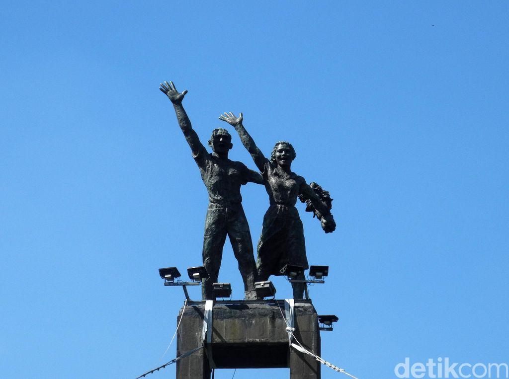 Monumental! Ini Lima Patung Ikon Ibu Kota