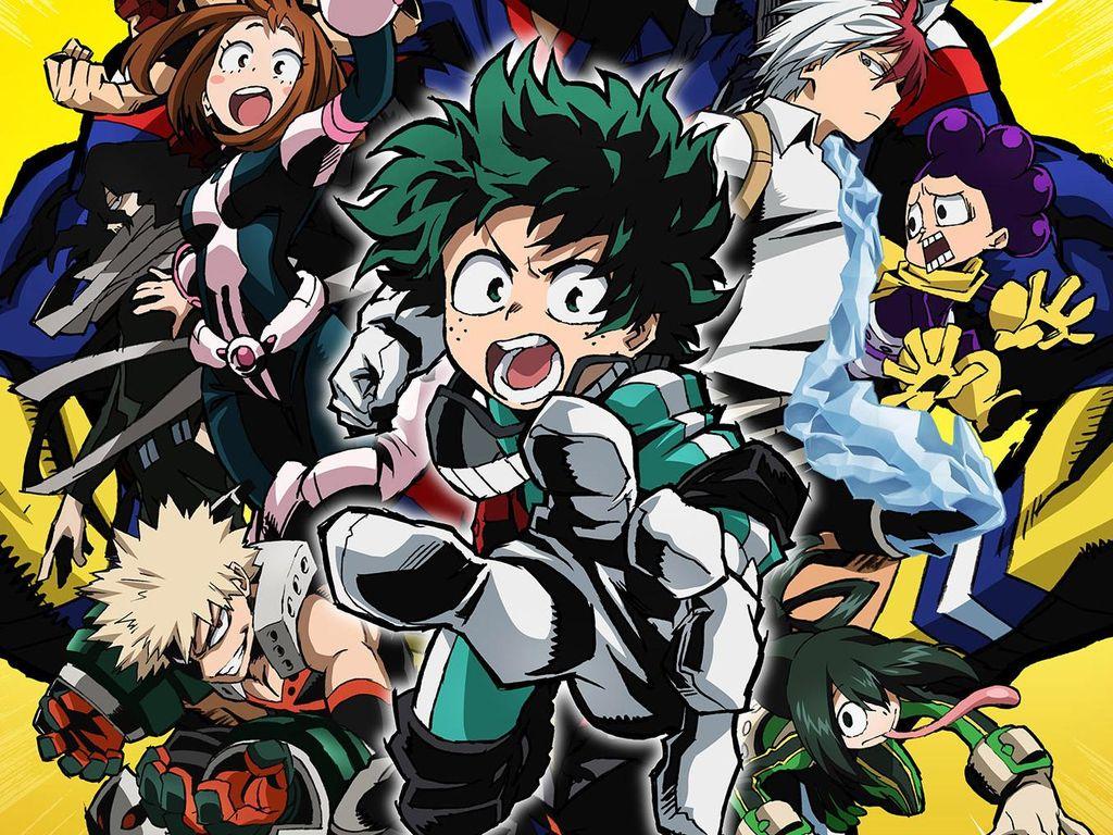 Wow! Manga My Hero Academia Terjual 30 Juta Eksemplar