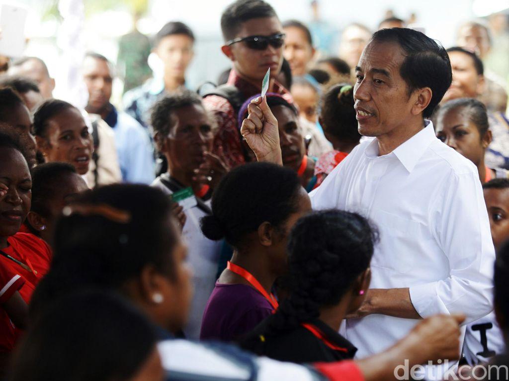 Kunker ke Papua, Presiden Jokowi Tiba di Sorong