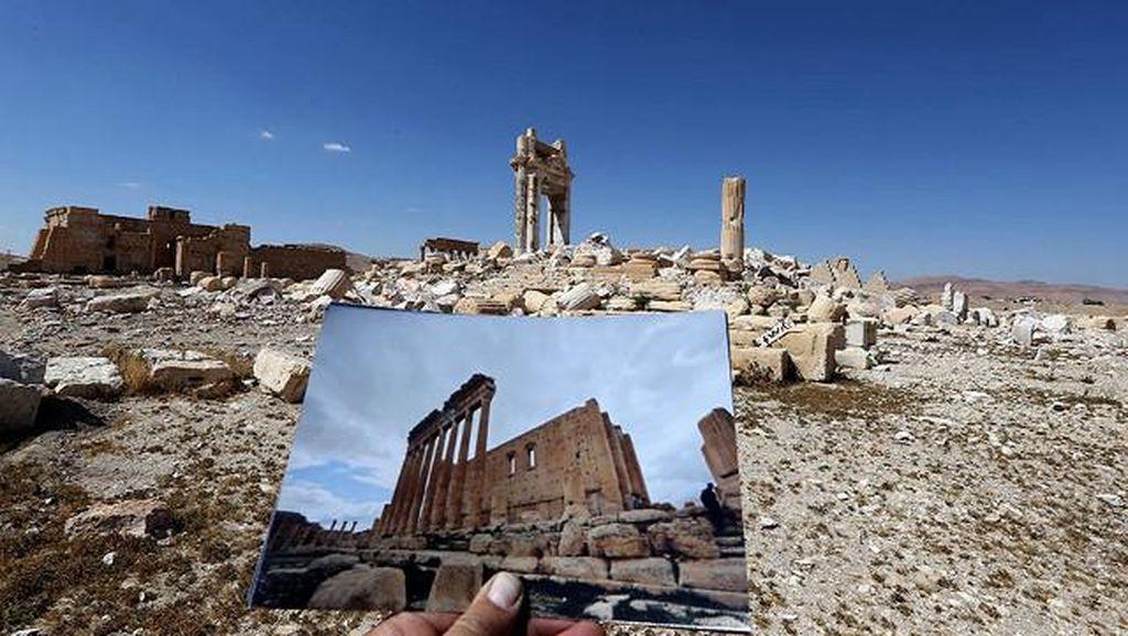Potret Kehancuran Bangunan Bersejarah yang Diserang ISIS