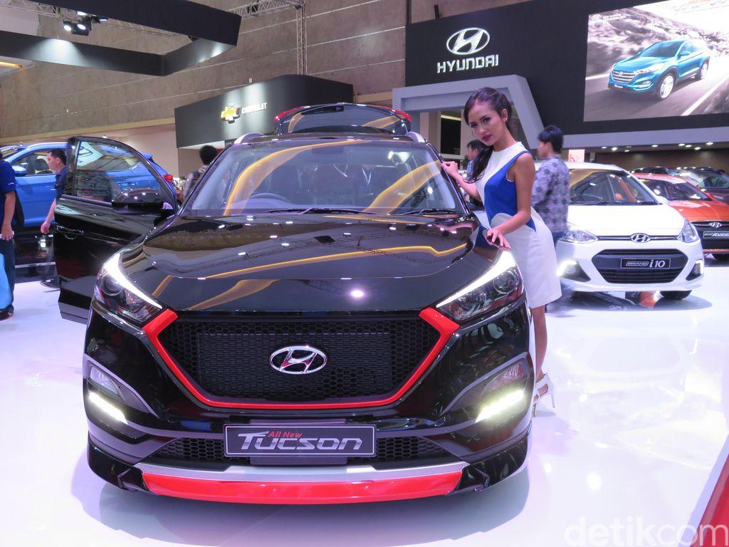 Hyundai Modifikasi SUV Tucson, Makin Kece