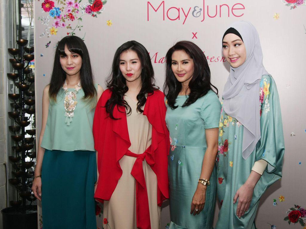 Maudy Koesnaedi Sentuh Dunia Fashion dengan Kolaborasi Bersama May & June