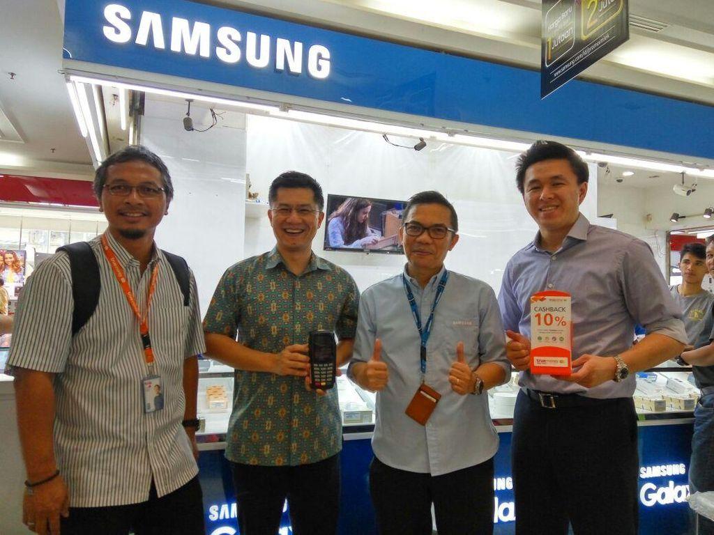 Samsung Borong 7.000 Mesin EDC e-Money Syariah