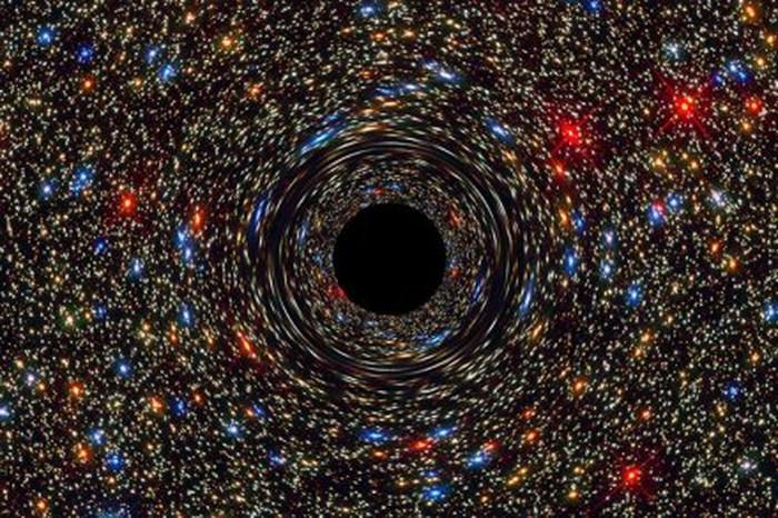 Ilustrasi lubang hitam. Foto: NASA