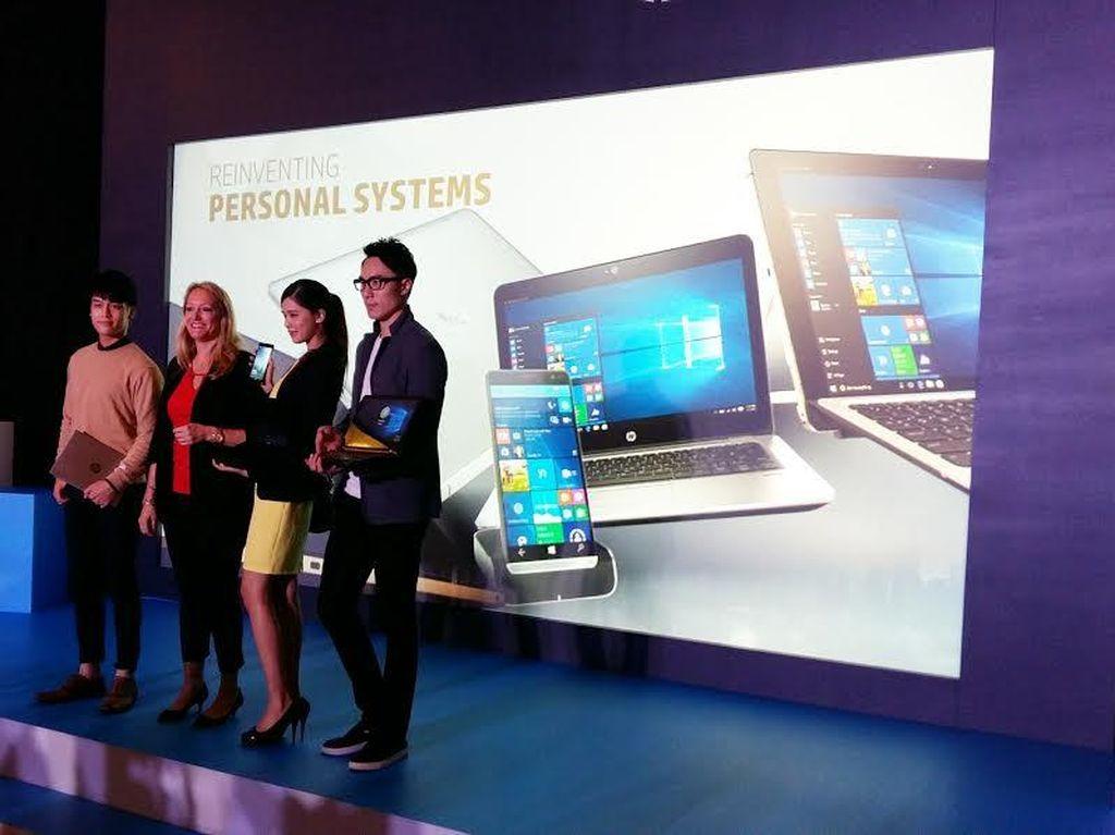 HP Luncurkan Jajaran Laptop & Smartphone Seksi