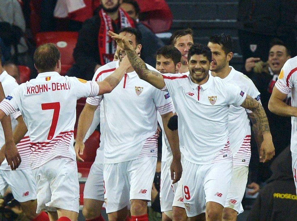 Sevilla Tundukan Bilbao 2-1