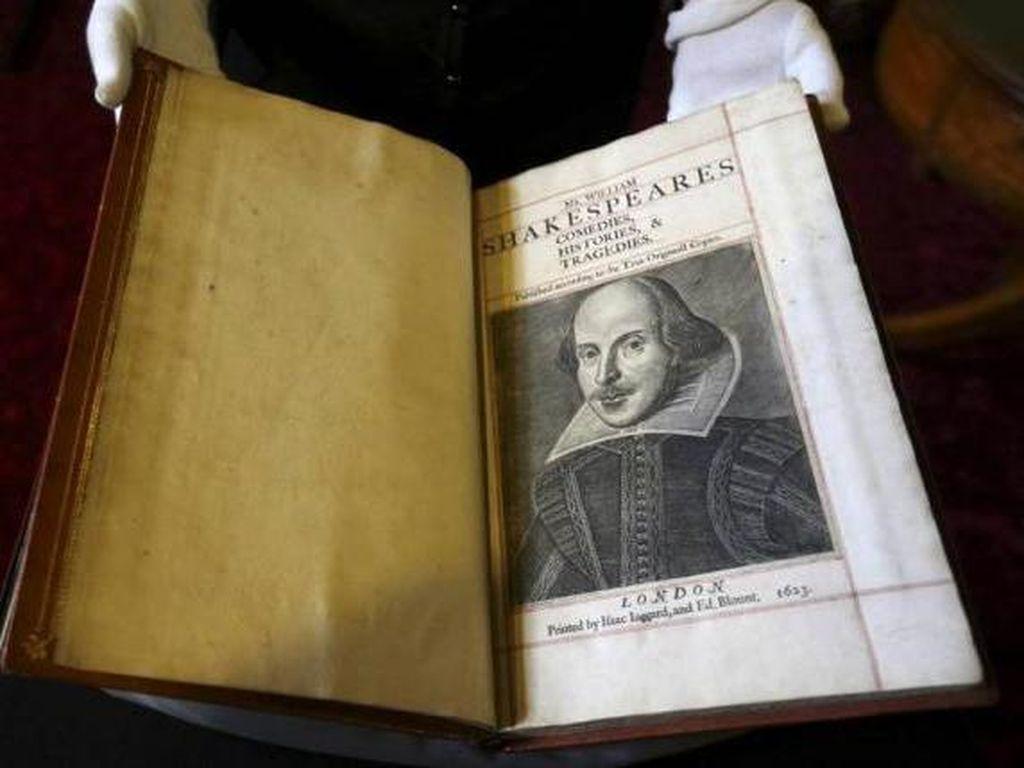 Salinan Langka Karya Shakespeare Berusia 400 Tahun Ditemukan di Skotlandia