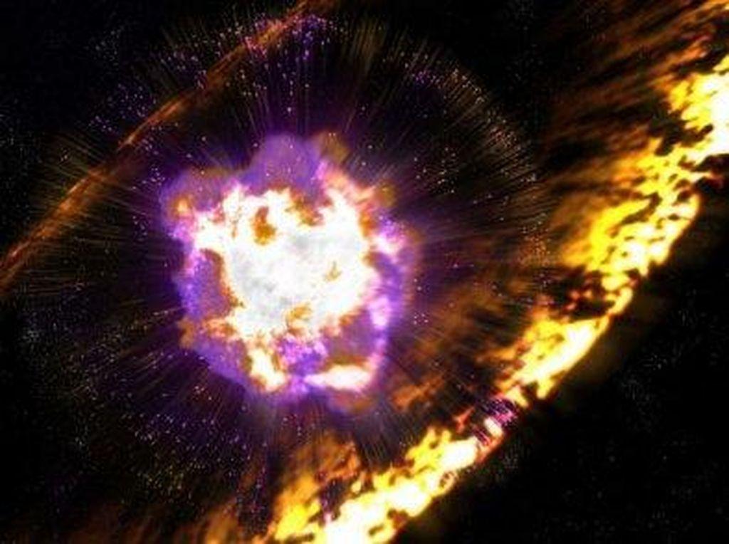 Spektakuler, Kehancuran Bintang Terekam Teleskop NASA