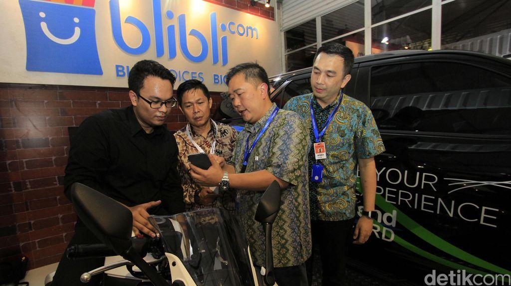 Garap Pasar Otomotif, Blibli.com Hadir di IIMS 2016