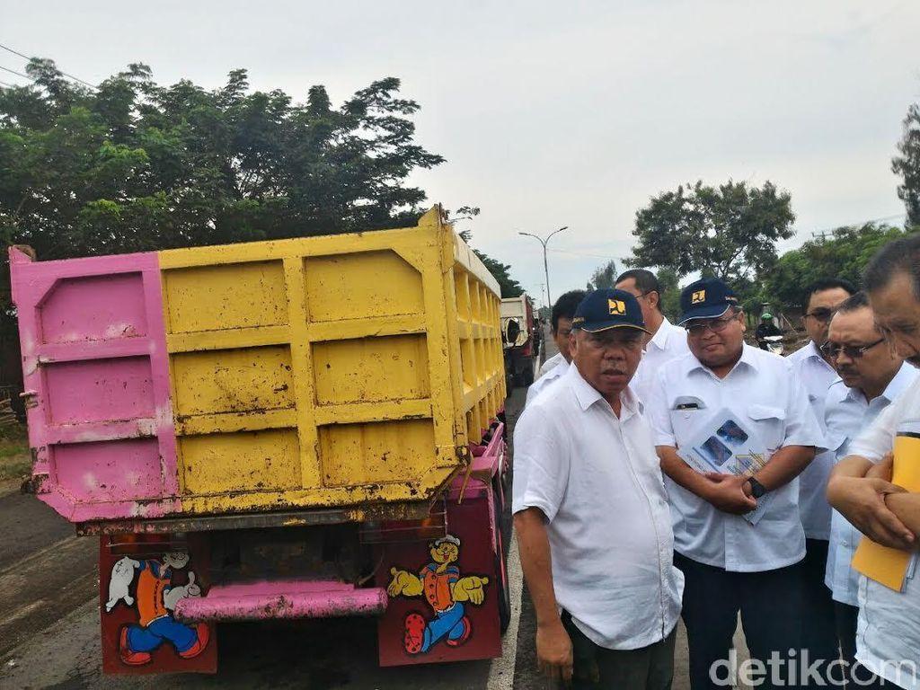 Persiapan Lebaran, Menteri Basuki Cek Kondisi Jalan di Pantura